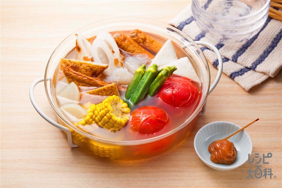 ★TOKYO「ほんだし」女子会考案★ 夏野菜を楽しもう♪「夏野菜活用術」