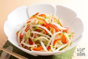夏野菜の和風ナムル