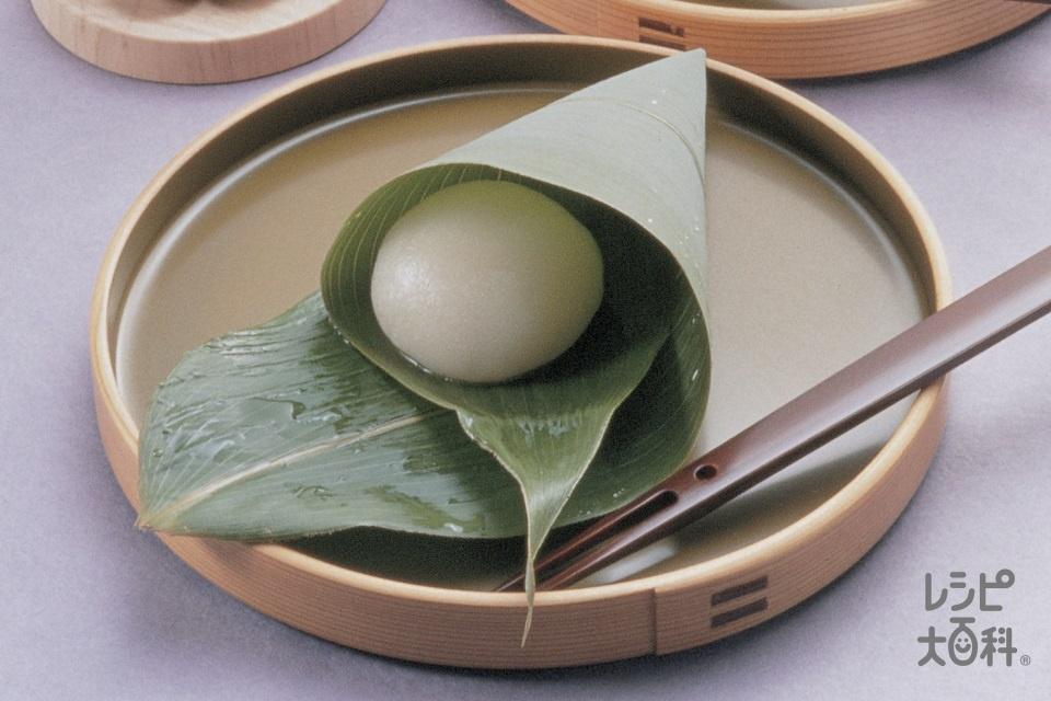 ういろうちまき(上新粉+砂糖を使ったレシピ)