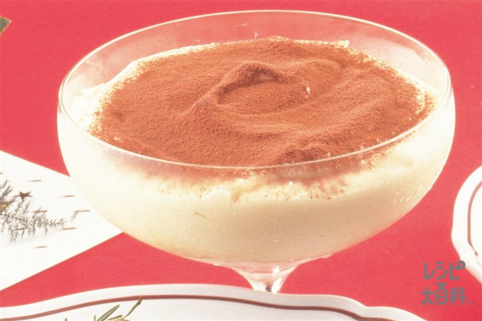 簡単ティラミス(マスカルポーネ+粉砂糖を使ったレシピ)