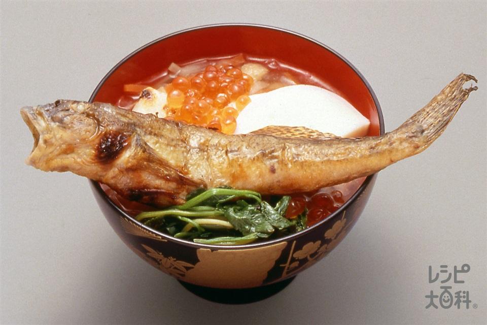 仙台雑煮(大根+餅を使ったレシピ)