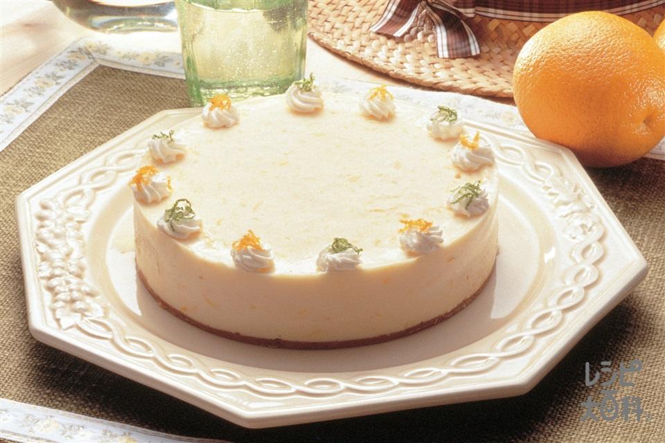 オレンジムース(オレンジ+生クリームを使ったレシピ)
