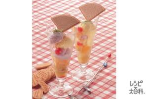 アイスクリームパフェ