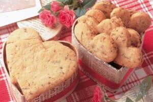 ハートのチョコ・クッキー
