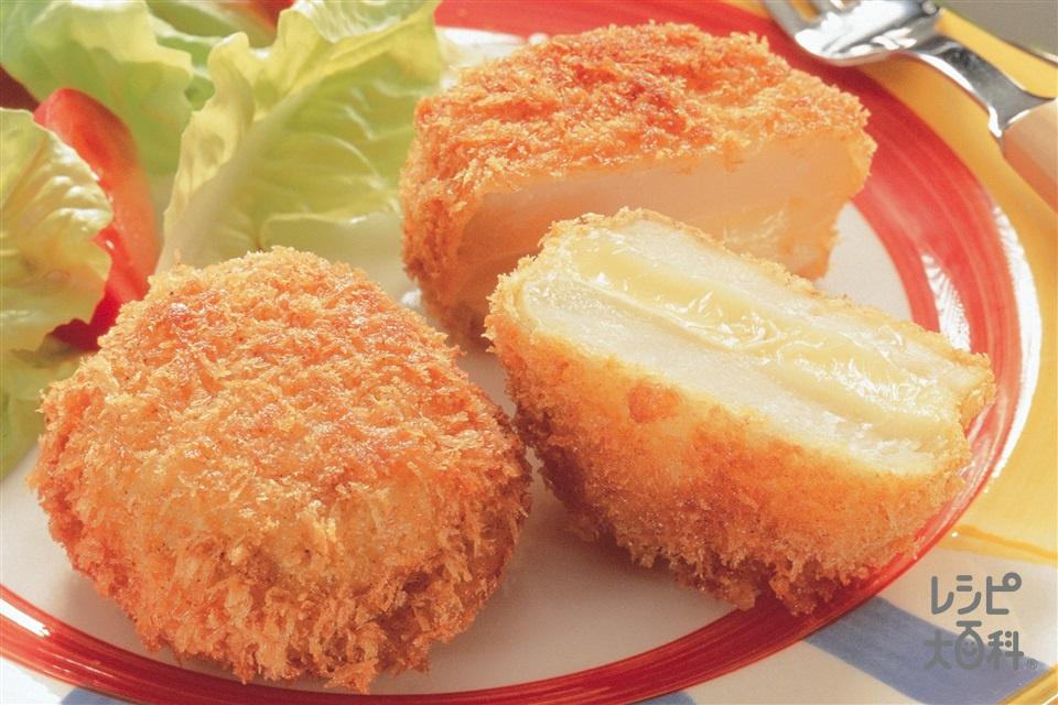 チーズポテトフライ(じゃがいも+カマンベールチーズを使ったレシピ)