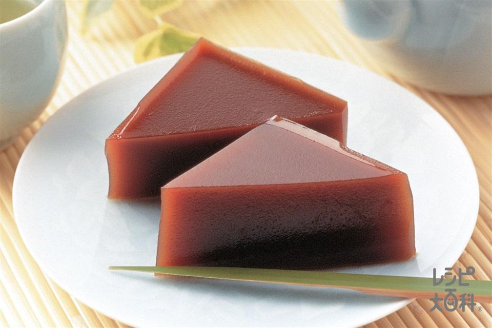 水ようかん(A粉寒天+A水を使ったレシピ)