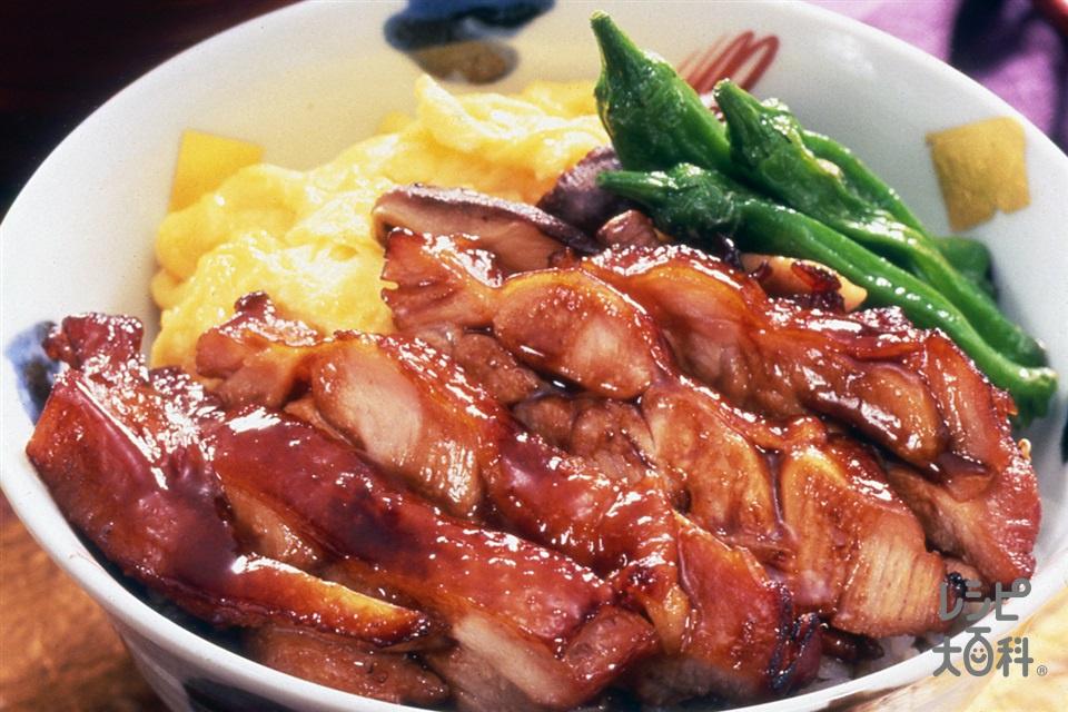 きじ焼き丼(鶏もも肉+ご飯を使ったレシピ)