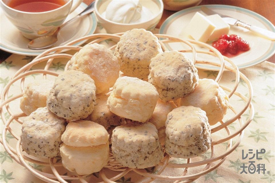 スコーン(薄力粉+卵を使ったレシピ)