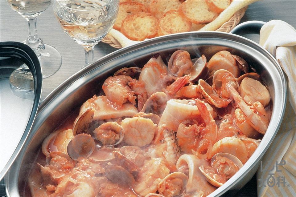 簡単ブイヤベース(白身魚+トマトジュースを使ったレシピ)