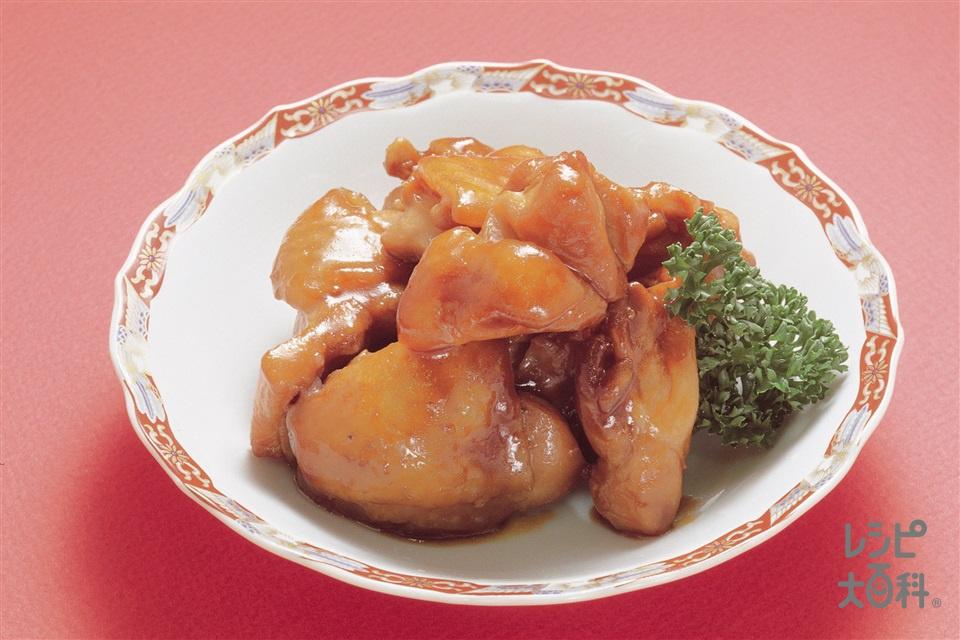 鶏肉の中国風煮込み(鶏もも肉+しょうがを使ったレシピ)