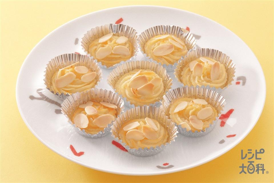 ポテトケーキ(乾燥マッシュポテト+牛乳を使ったレシピ)