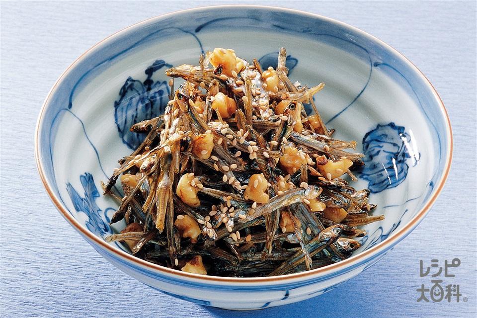 いりこの甘辛煮(いりこ+カシューナッツを使ったレシピ)
