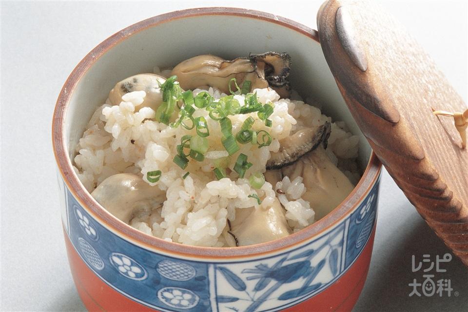 スピードかきご飯(生がき+ご飯を使ったレシピ)