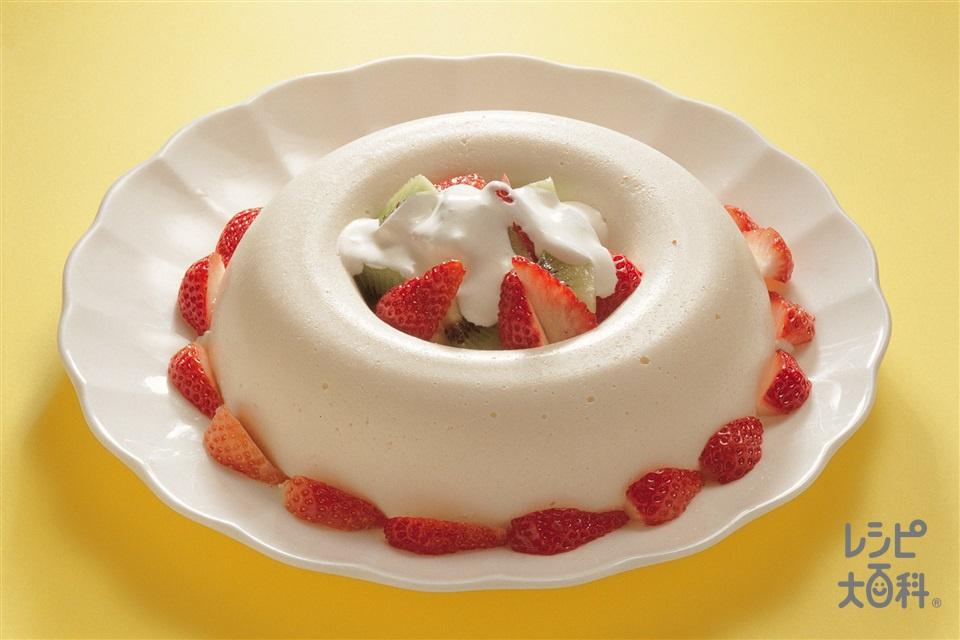 豆腐入りチーズケーキ(粉ゼラチン+「パルスイート」を使ったレシピ)