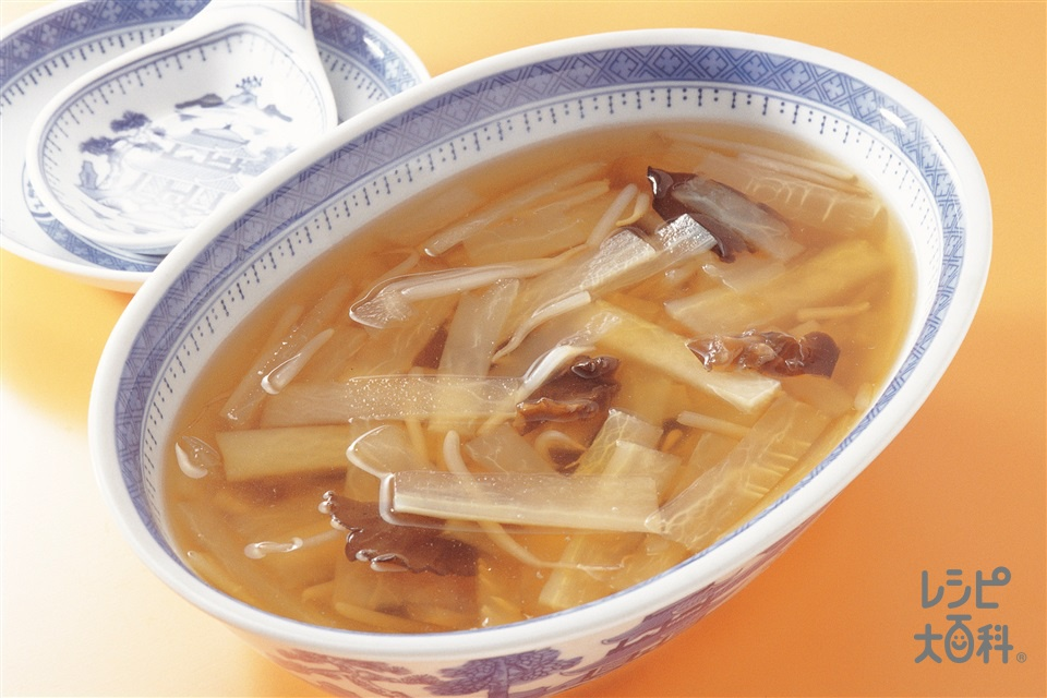 大根ともやしのスープ(大根+もやしを使ったレシピ)
