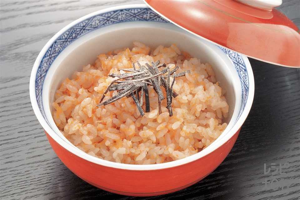 にんじんご飯(米+にんじんを使ったレシピ)