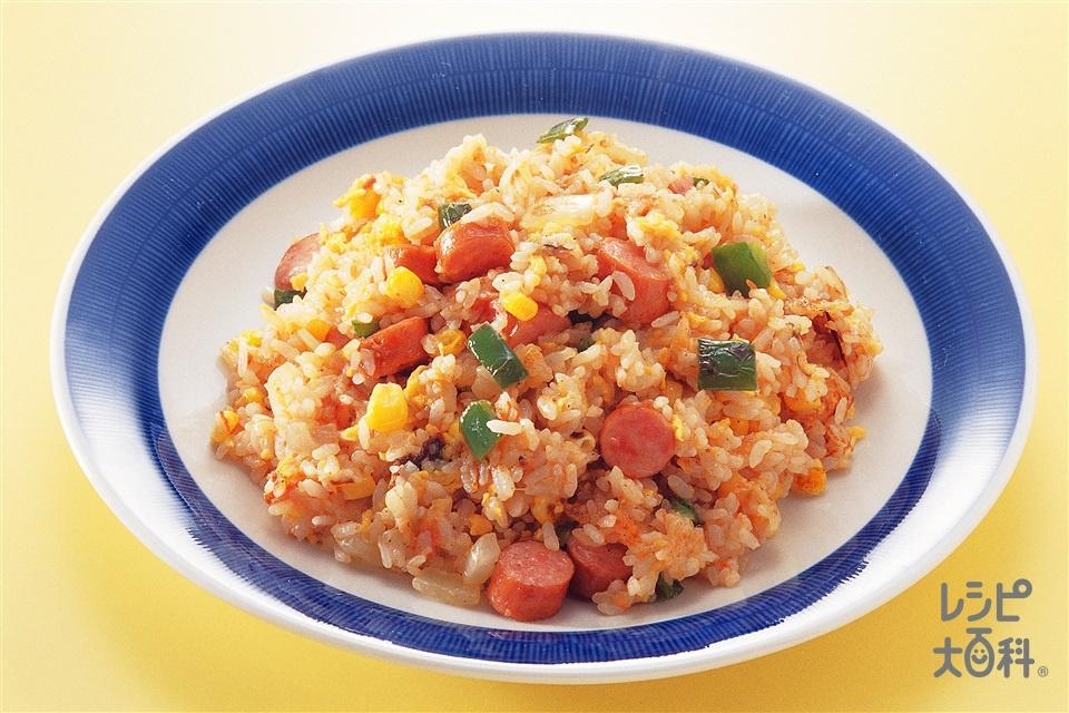トマトチャーハン(完熟トマト+玉ねぎを使ったレシピ)