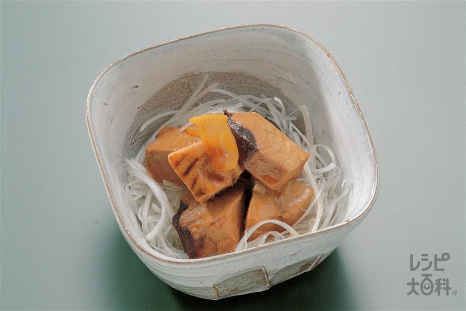かつおの角煮(かつお+ねぎを使ったレシピ)