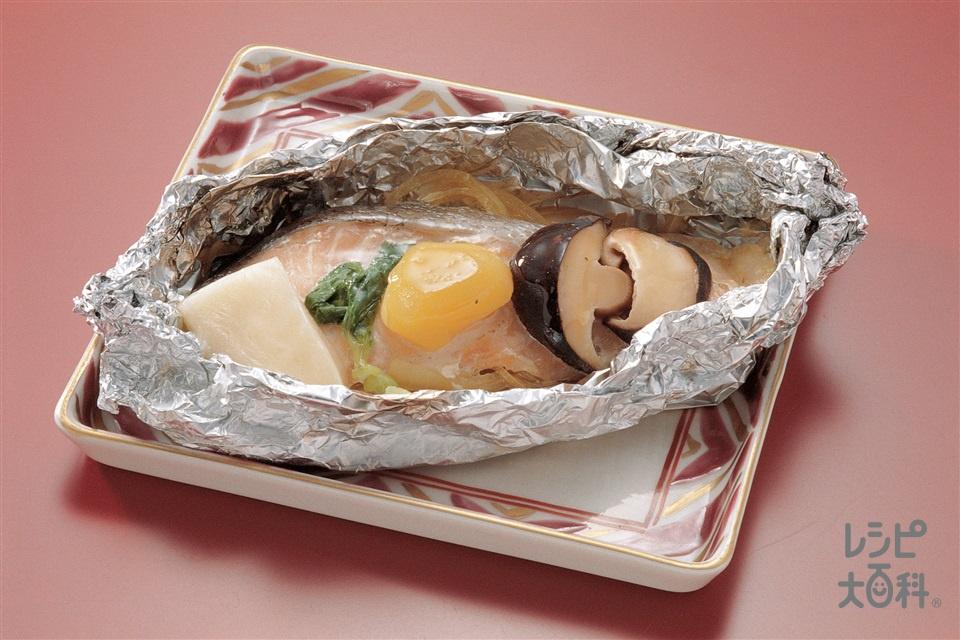 さけの宝焼き(生ざけ+玉ねぎを使ったレシピ)