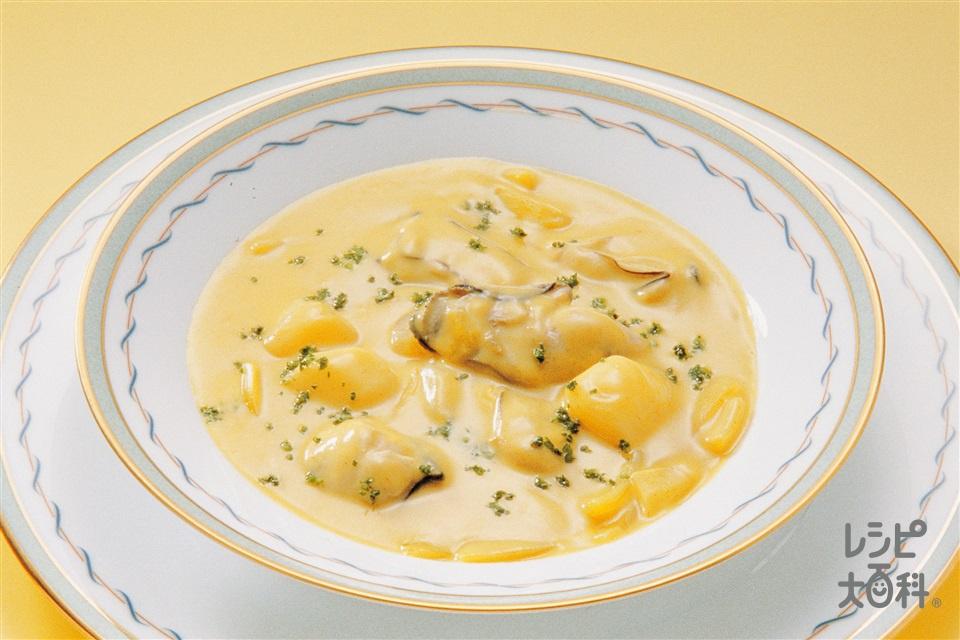 かきとかぶのシチュー(かき(むき身)+牛乳を使ったレシピ)