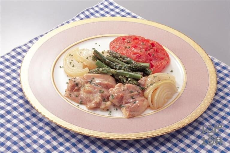 鶏肉と野菜のオリーブオイル焼き