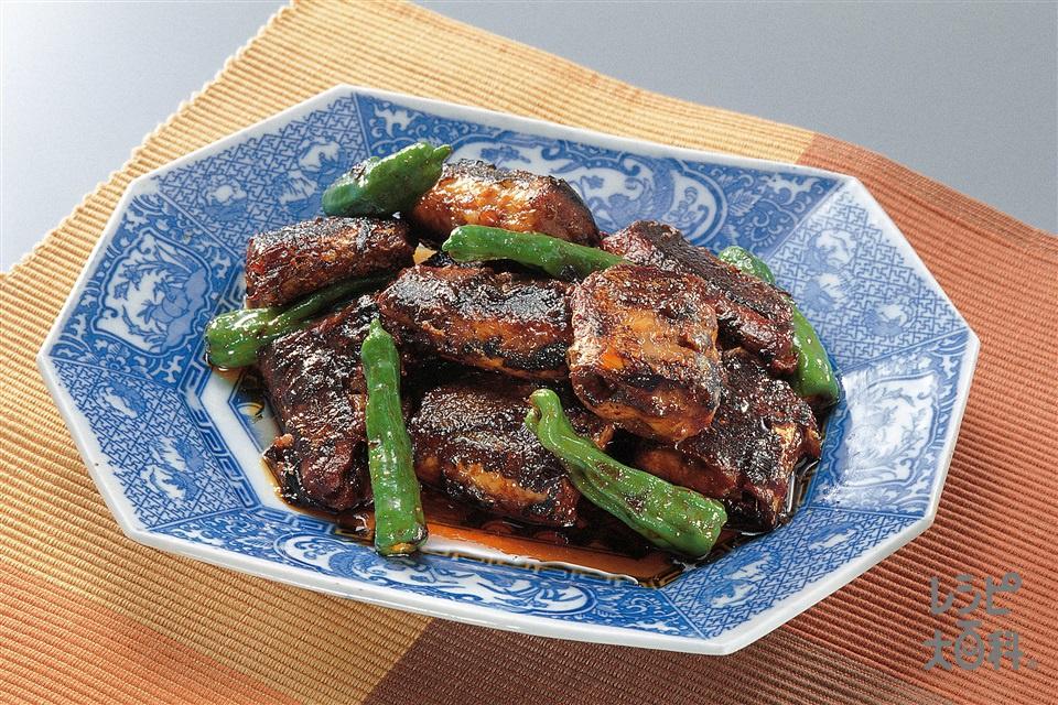 さんまの韓国風煮(さんま+ししとうがらしを使ったレシピ)