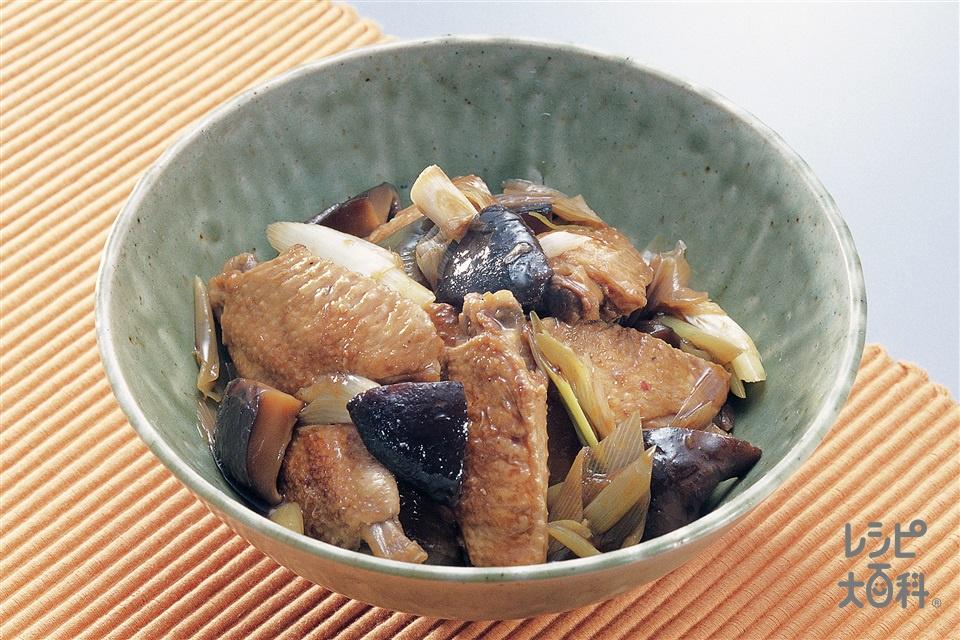 鶏手羽先の煮込み(鶏手羽先+干ししいたけを使ったレシピ)