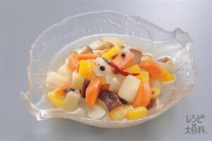 野菜のマリネ(にんじん+パプリカ(黄)を使ったレシピ)