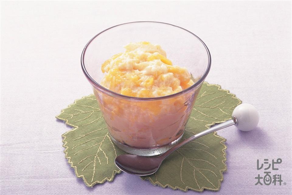 マンゴープリン(粉ゼラチン+マンゴーを使ったレシピ)