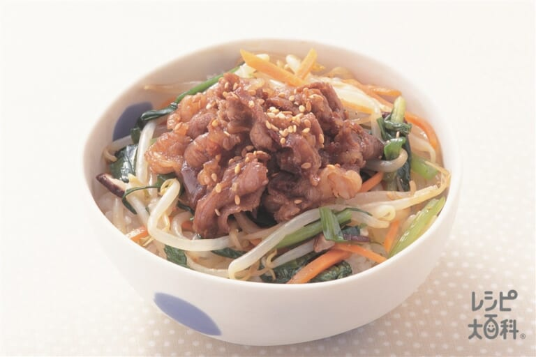 ビビンバ風丼