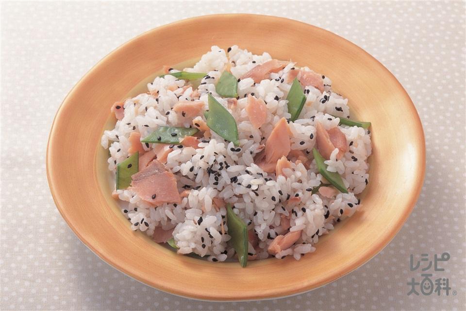 さけのちらし(さけ+ご飯を使ったレシピ)