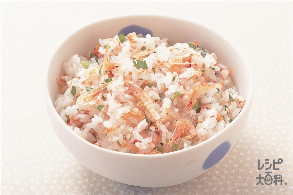 桜えびご飯(ご飯+桜えびを使ったレシピ)
