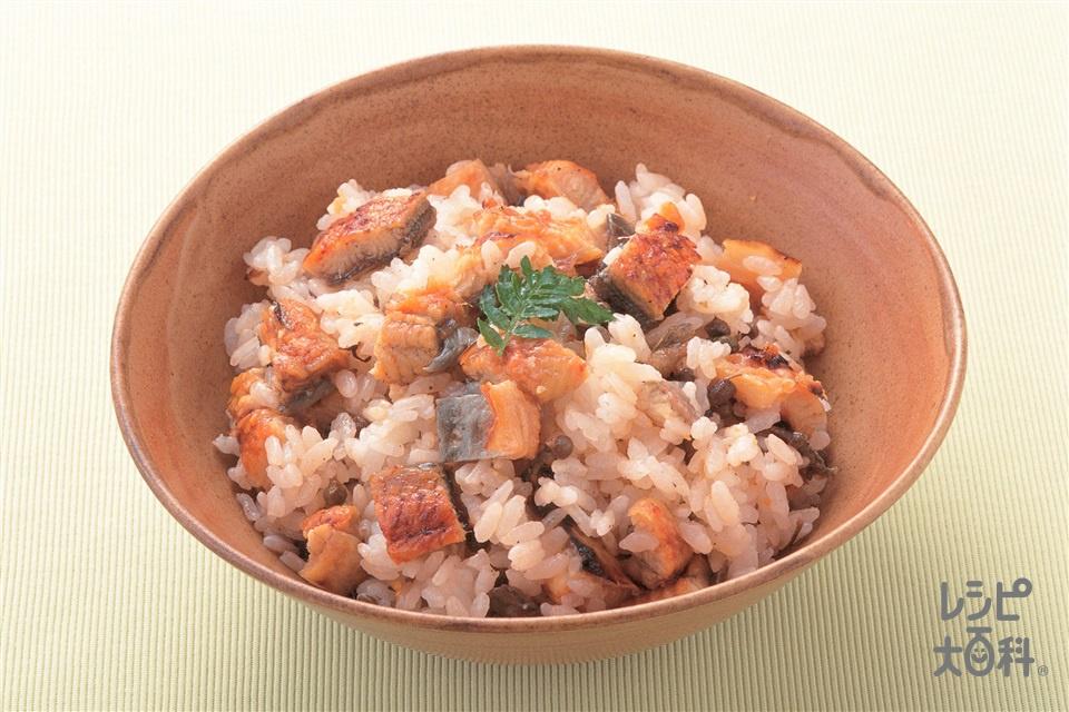 うなぎ混ぜご飯(うなぎのかば焼き+ご飯を使ったレシピ)