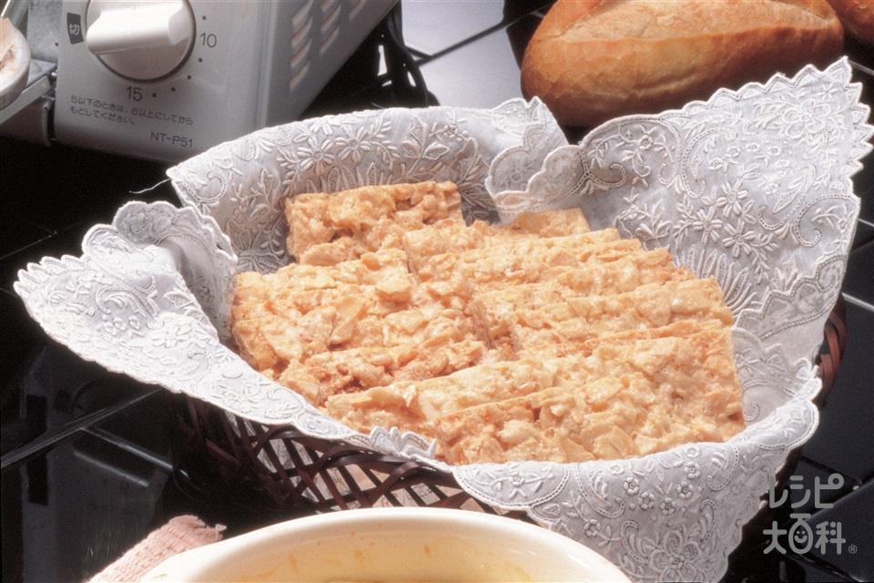 アーモンドクッキー(スライスアーモンド+グラニュー糖を使ったレシピ)