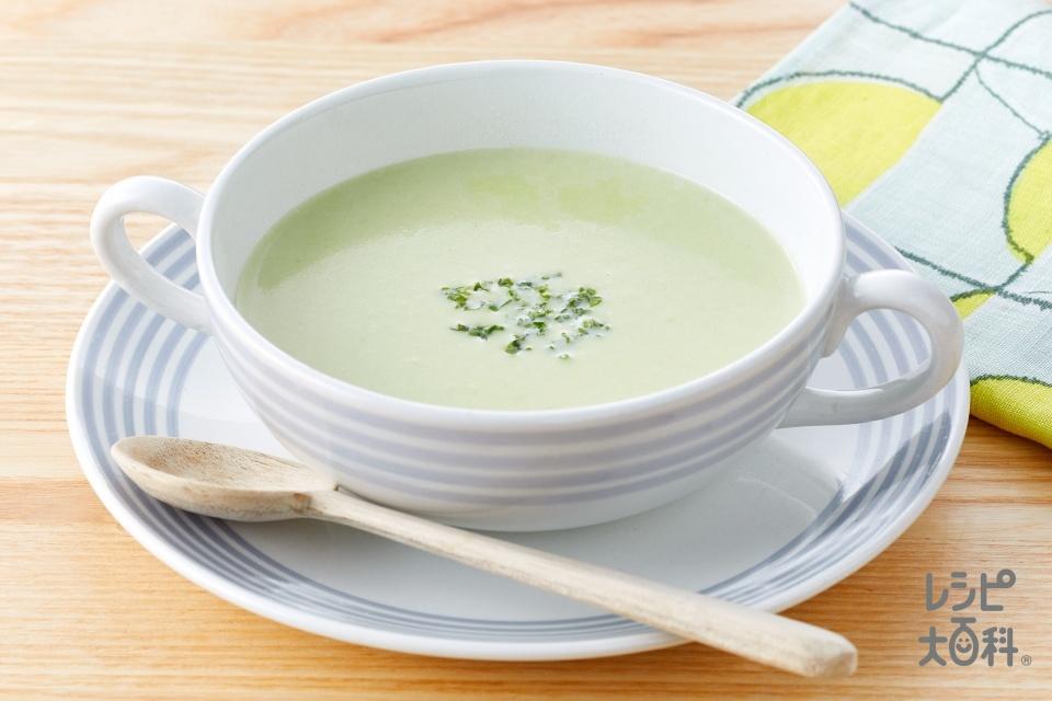 そら豆のスープ(そら豆+牛乳を使ったレシピ)