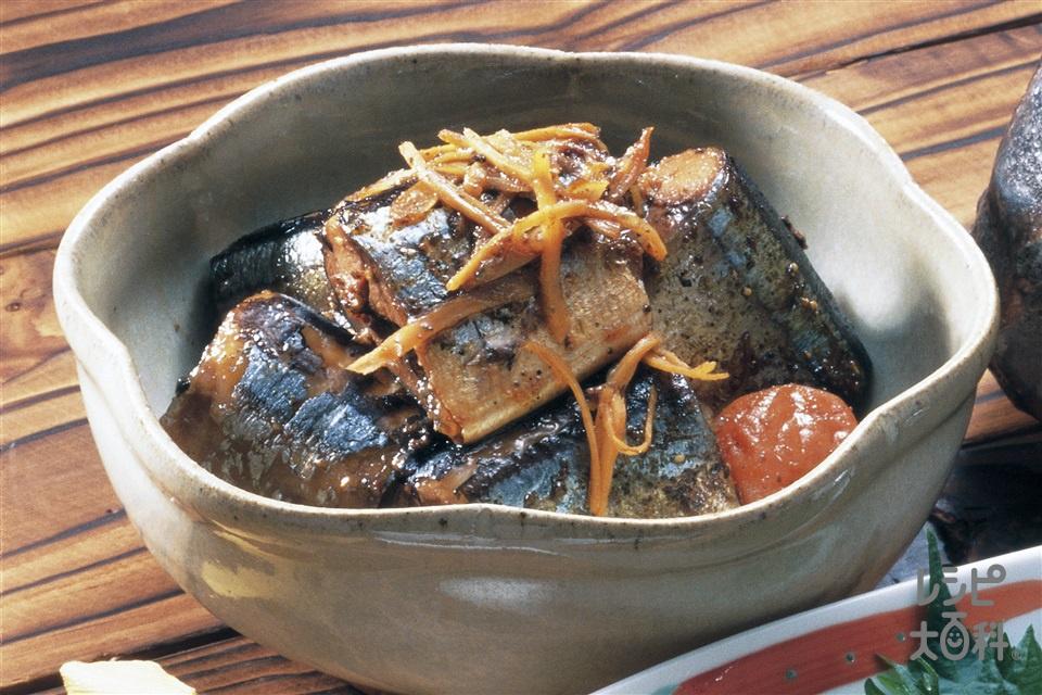 さんまの常備菜(さんま+しょうがを使ったレシピ)