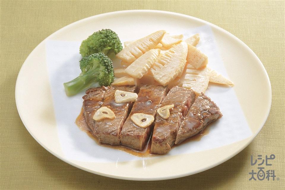 中国風ステーキ