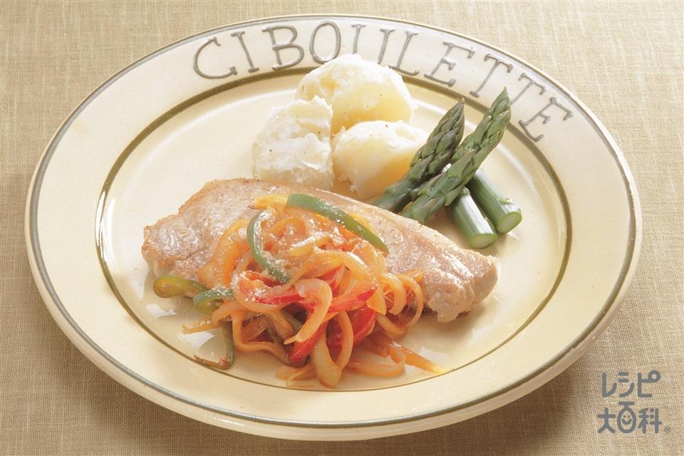 ポークソテー(豚ロース肉+玉ねぎを使ったレシピ)