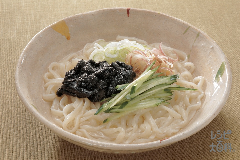 ごまあえうどん(きゅうり+うどんを使ったレシピ)