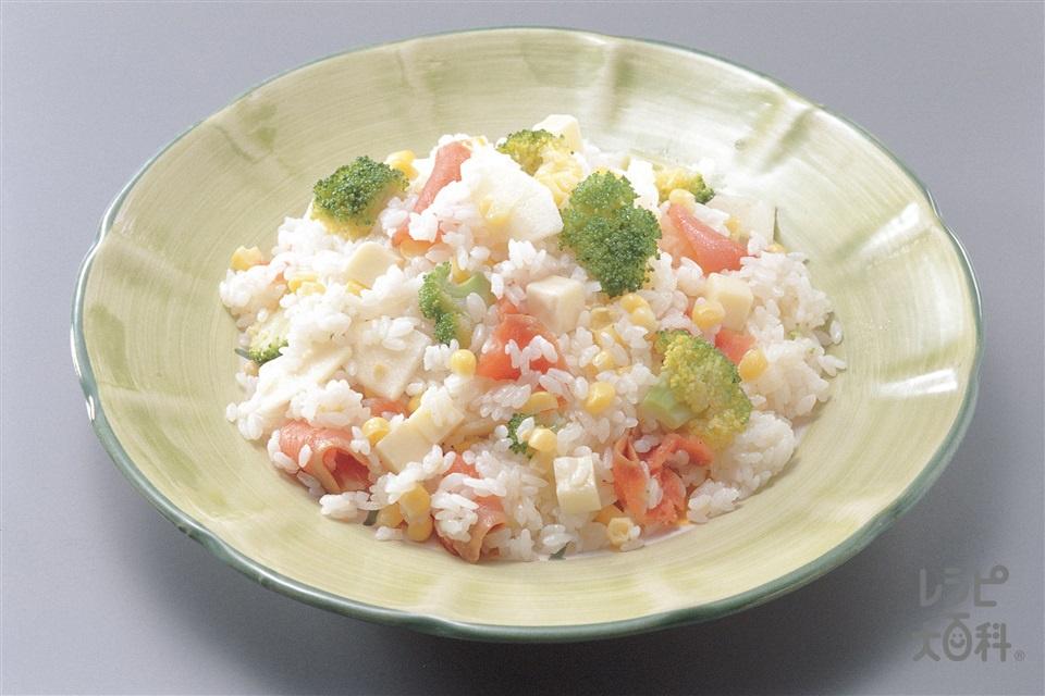 サワーライス(ご飯+A「AJINOMOTO オリーブオイル エクストラバージン」を使ったレシピ)