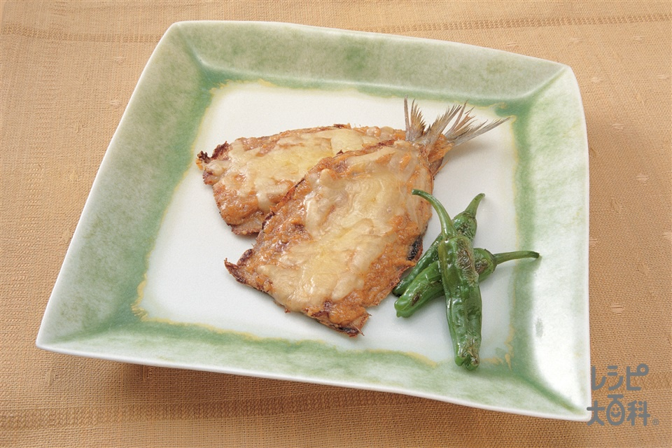 いわしのみそマヨソテー(いわし+溶けるチーズを使ったレシピ)