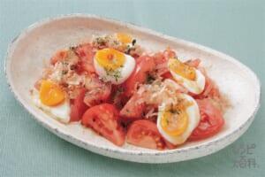 トマトのおかかサラダ