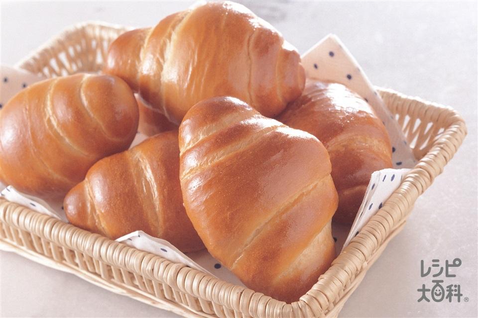 バターロールパン(強力粉+卵を使ったレシピ)