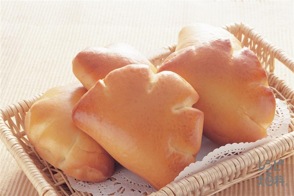 クリームパン(A強力粉+Aドライイーストを使ったレシピ)