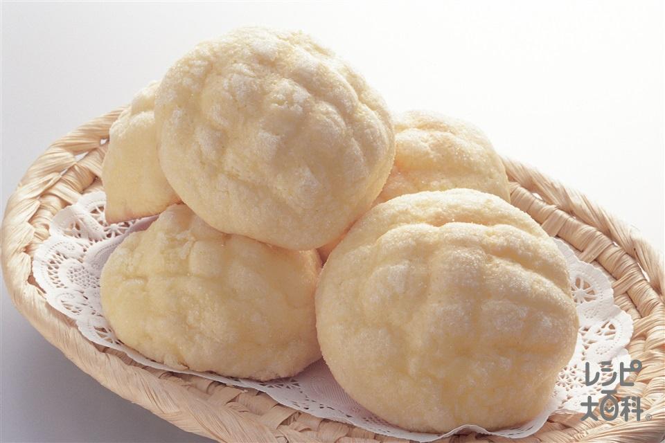 メロンパン(A強力粉+Aドライイーストを使ったレシピ)