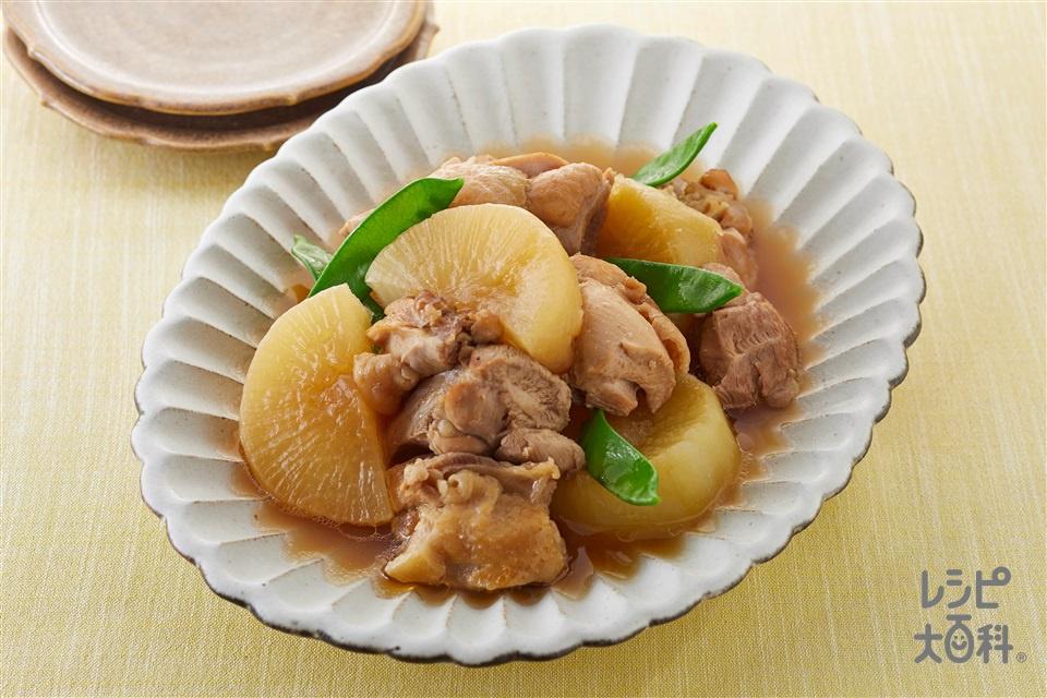 鶏肉と大根のうま煮(鶏もも肉+大根を使ったレシピ)