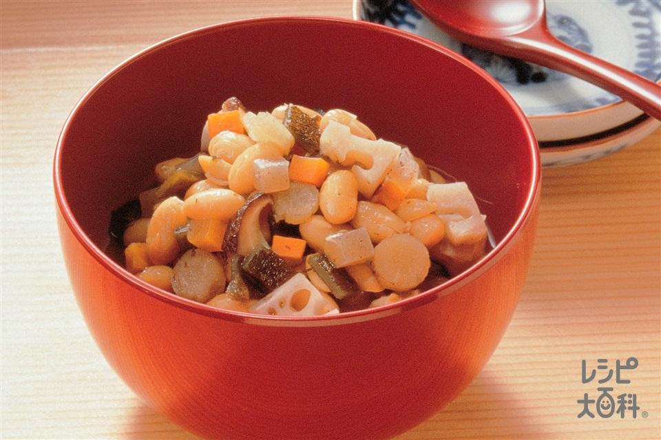 五目豆(大豆(乾)+砂糖を使ったレシピ)