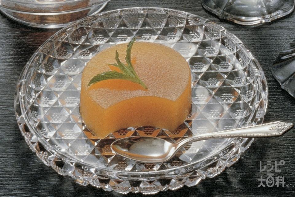 にんじんゼリー(にんじん+砂糖を使ったレシピ)