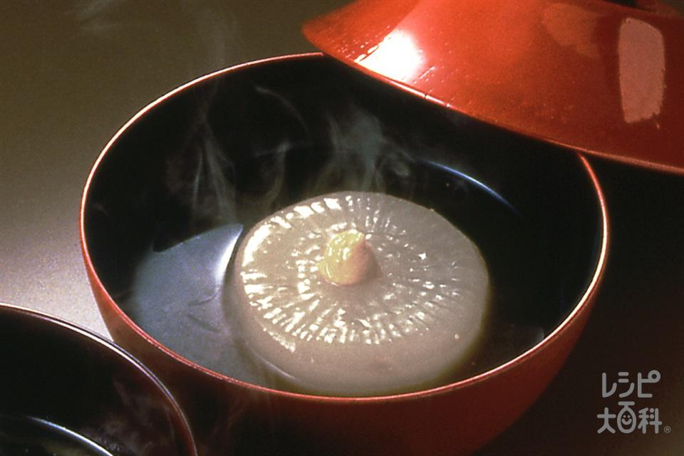 大根のみそ汁(大根+「ほんだし いりこだし」を使ったレシピ)