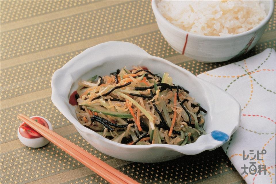 ひじきサラダ(きゅうり+にんじんを使ったレシピ)